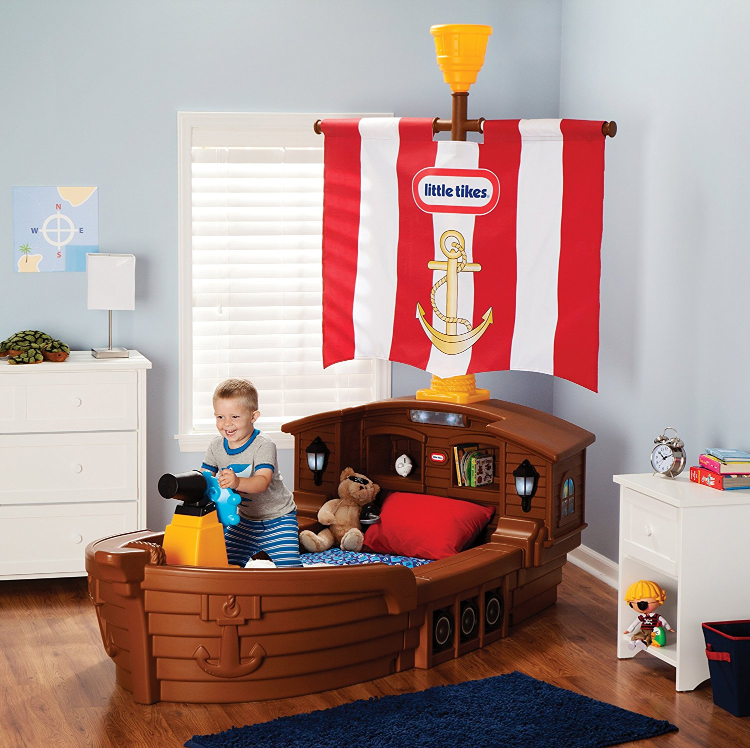 Pirate Ship Toddler Bed Review